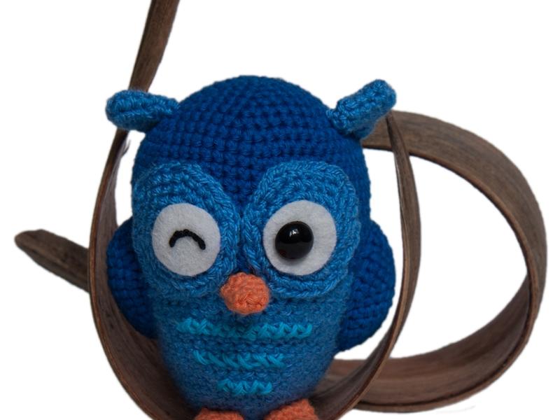 Jib the Owl Amigurumi