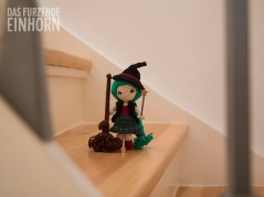 Crocheted Witch