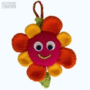 Crocheted Music-Box Flower