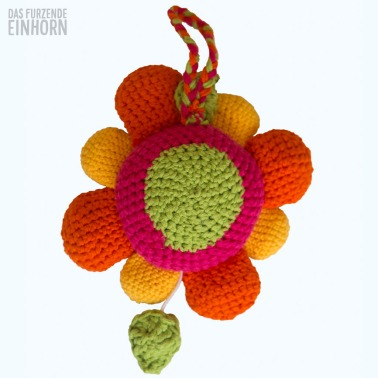 Blumen-Spieluhr häkeln