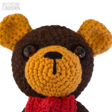 Teddy Spieluhr häkeln