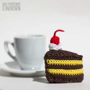 chocolate cake crochet