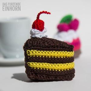 chocolate cake crochet