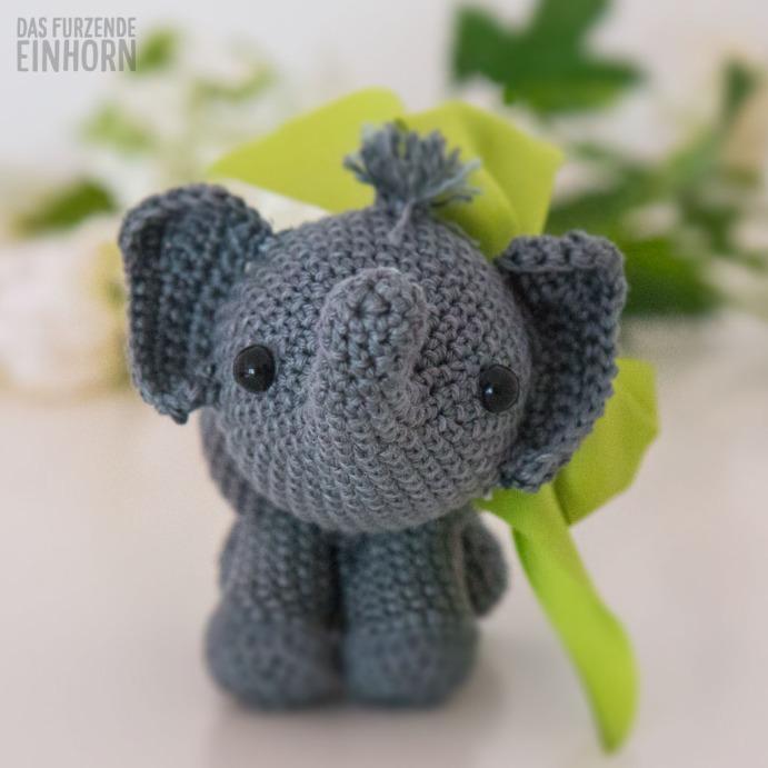 Niedliche Elefanten häkeln