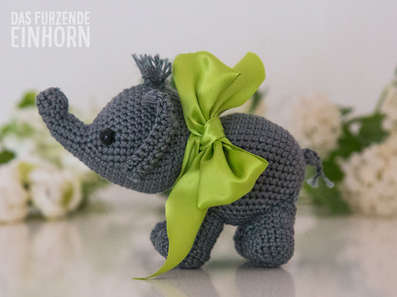 How to crochet an elephant