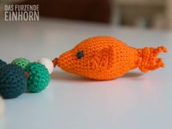 Beissring häkeln mit Fisch
