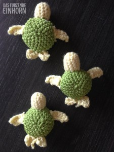 How to crochet a turtle