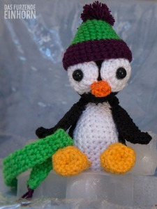 Crocheted Pinguin