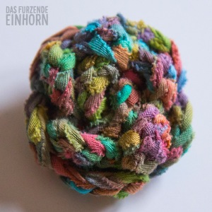 Schal-Blume-Bändchengarn