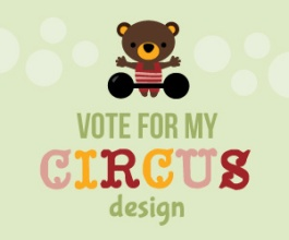 amigurumi contest vote for my circus design