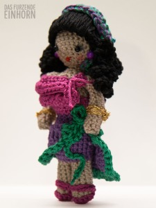 Crocheted Fortune Teller