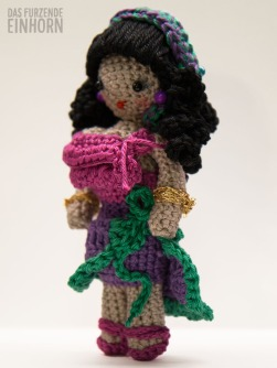 Crocheted Fortune Teller