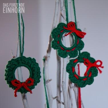 Weihnachtsdekoration Kränze