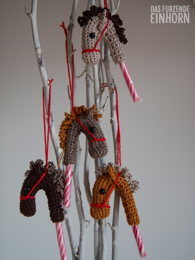 Zuckerstangen-Dekoration-Weihnachten