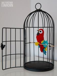 Papagei-Häkeln