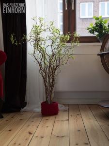 Dekoration-Vase-häkeln