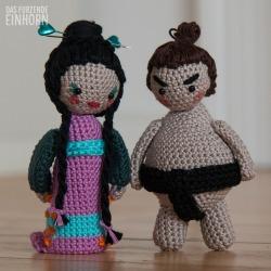Geisha-Sumo-Häkeln