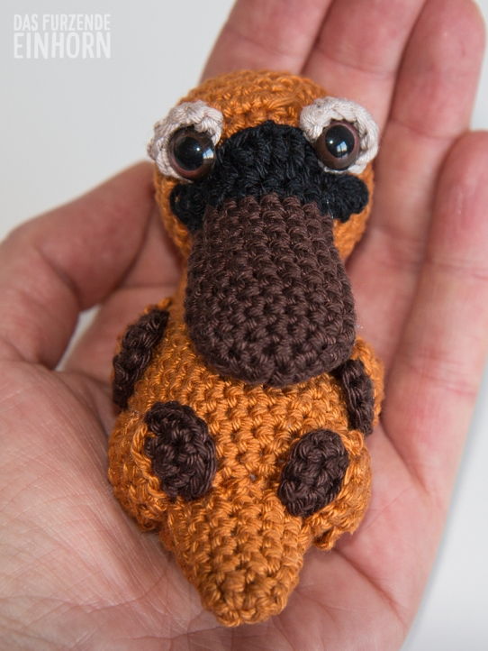 Crocheted-Platypus-baby
