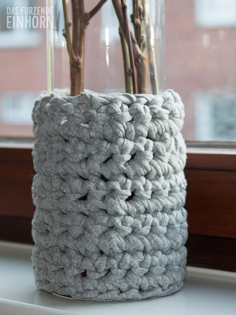 Vase Häkeln Für Den Frühling Das Furzende Einhorn