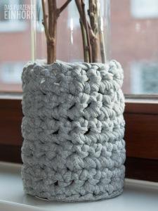 Vase-häkeln-für-den-Frühling