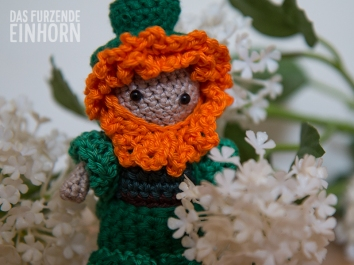 Crochet a Leprechaun for St.Patrick's Day