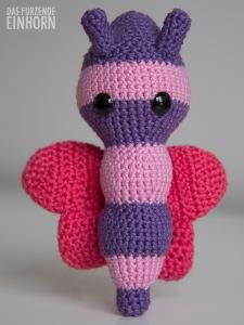 Crocheted baby shower gift for a girl