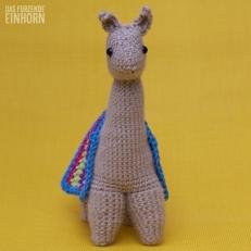 Crochet a Lama front