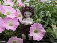 Crocheted Satyr