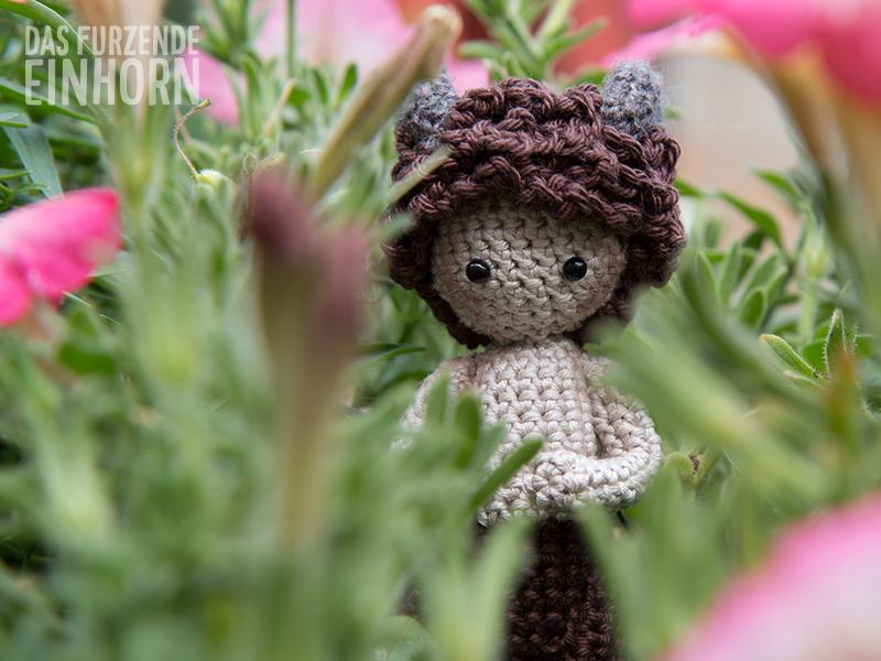 Crocheted Tumnus