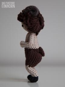 Crocheted Faun right