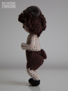 Crocheted Faun right