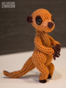 Crochet a meerkat