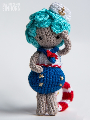 Crocheted Sailorette