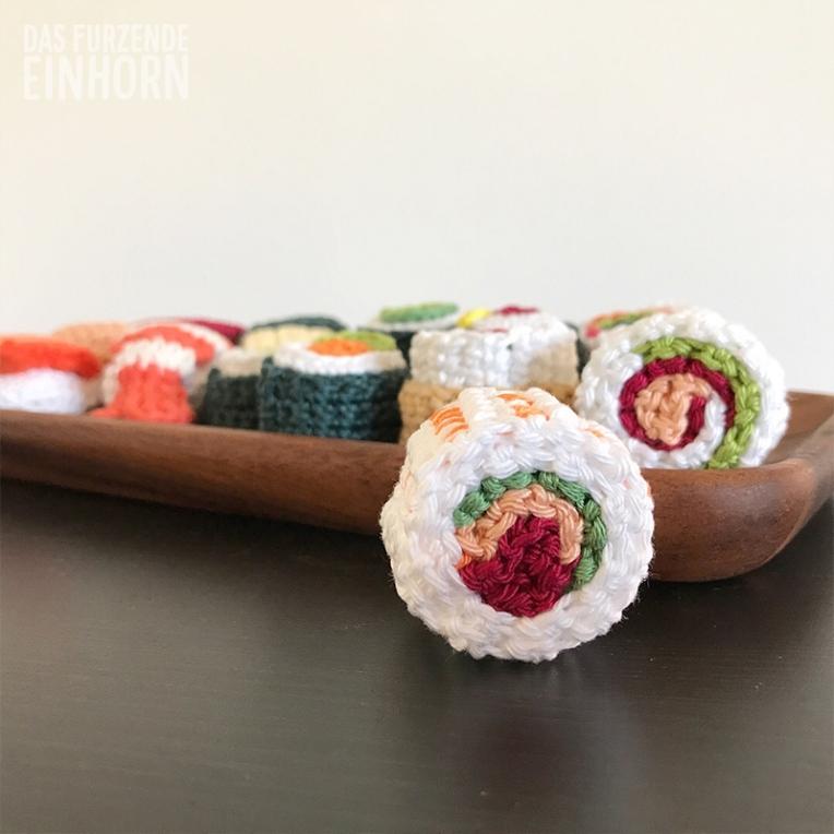 Crochet Sushi and Maki