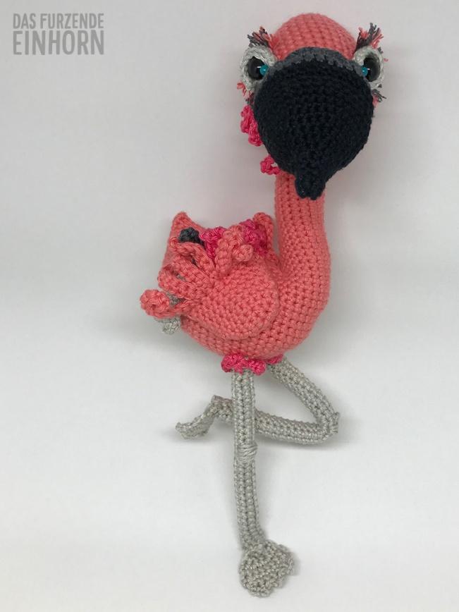 Crocheted-Flamingo