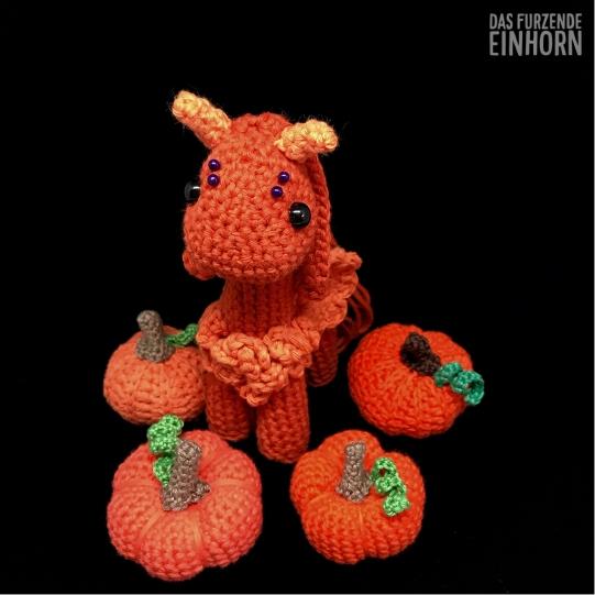 Crochet a Pumpkin Pegasus