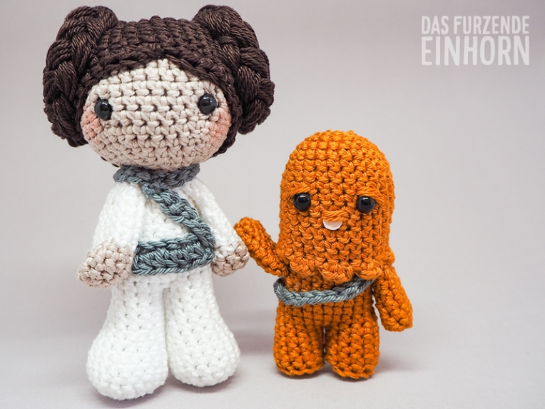 Dreamteam: Prinzessin Leia und Chewbacca