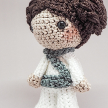 Prinzess Leia Starwarsday2019 Crochet